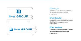 M+W Group - Style-Guide Logo + Schrift | © aufwind Group