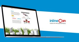 OPTIMA packaging group - InlineCan Webseite | © aufwind Group