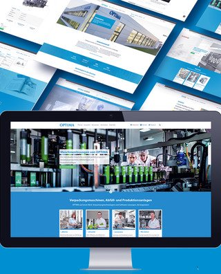 OPTIMA packaging group - PIM Webseite | © aufwind Group